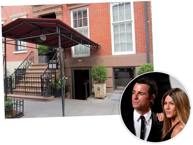 Jennifer e Justin, e o apartamento deles