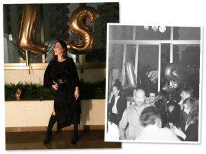 Lilly Sarti comemorou idade nova com festa para poucos e bons