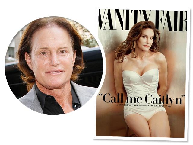 Cailtyn, ex-Bruce, na capa da VF || Créditos: Getty Images/Reprodução