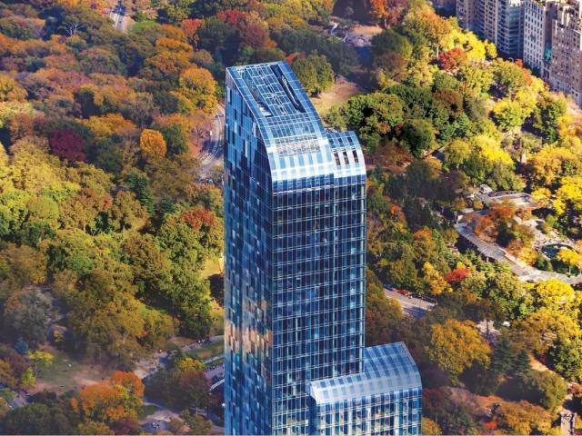 O edifício One57, em NY