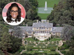 É tenso o clima entre Oprah Winfrey e seus vizinhos famosos na Califórnia…