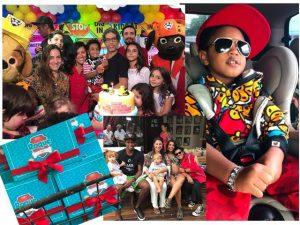 Roque, filho de Regina Casé, atacou de rapper no seu aniversário