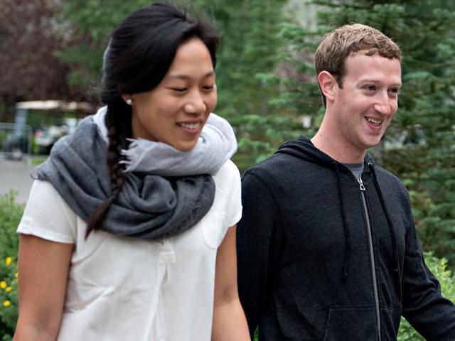 Priscilla Chan e Mark Zuckerberg || Créditos: Getty Images