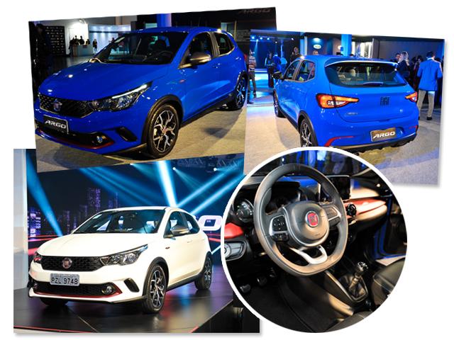 O Argo, novo lançamento da Fiat || Créditos: Paulos Freitas