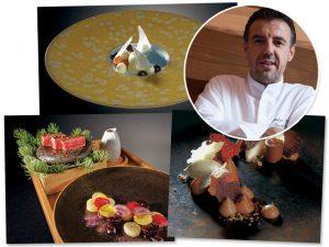 Chef estrelado francês, Benoit Vidal pilota três jantares em SP