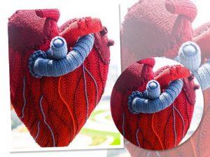 Lá em Casa: o coração em sua forma mais pura na almofada MF8Home