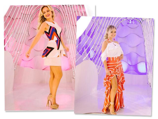 Looks usados por Eliana em seu programa    Créditos: Reprodução Instagram