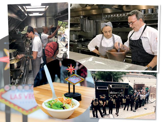 Rick Moonen criou um menu especial, junto com Bel Coelho, para o food trock Las Vegas que rodou por São Paulo || Créditos: Divulgação