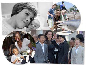 No Dia das Mães, 10 famosas que adotaram crianças ao redor do mundo!