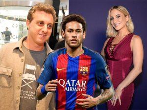 Neymar arma leilão de seu instituto com apresentação de Huck e Claudia Leitte