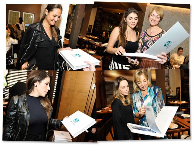 Pier 1 presenteou as glamurettes do encontro de dia das mães com guis de viagens