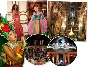 Casamento cinematográfico reúne milionários internacionais no Rio
