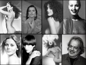 Nudes de Christiane Torloni e Luiza Brunet vão a leilão no Rio