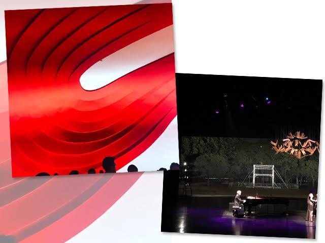 Detalhes das apresentações de Jun Miyake e Ryuichi Sakamoto no Auditório do Ibirapuera, em São Paulo    Créditos: Glamurama