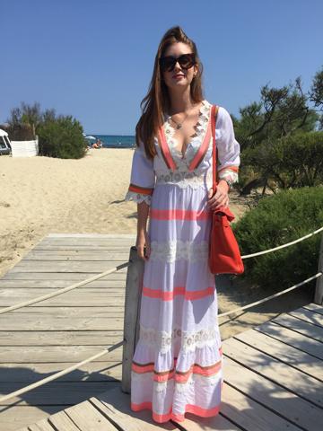 Marina Ruy Barbosa em St. Tropez || Créditos: Glamurama