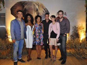 Amarula arma encontro em SP em prol da preservação dos elefantes
