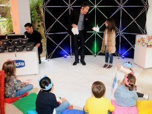 Chicco homenageou mães com show de mágica no Piquenique Glamurama