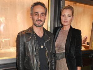 Ara Vartanian e Kate Moss lançam linha de joias a 4 mãos em Londres