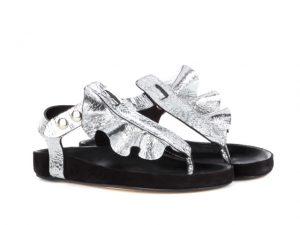 Desejo do Dia: babados mil na sandália Leakey de Isabel Marant