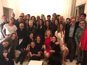 Marília Gabriela comemora aniversário em ótima forma e rodeada de amigos