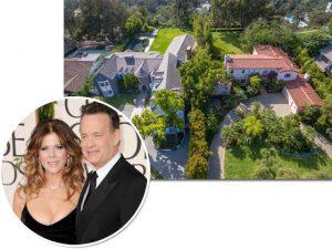 Tom Hanks embolsa milhões ao vender duas mansões de uma só vez