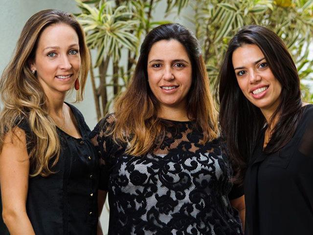 Edda Ugolini Bauder, Elisa Tavares Bueno e Gizella Luglio, o trio por trás da Boutique de 3|| Créditos: Divulgação