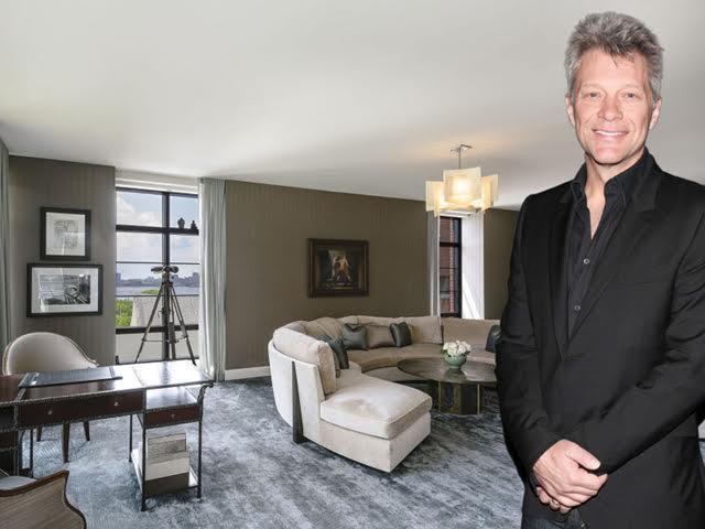 Interior do duplex de Jon Bon Jovi em Manhattan, NY || Créditos: Divulgação