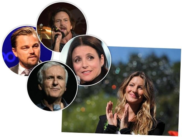 Os famosos que lutam pelo meio ambiente