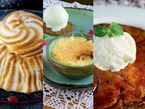 Revista J.P entrega 3 receitas de sobremesas para um jantar a dois