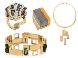 Na PODER, uma coleção com joias assinadas por Di Cavalcanti, Burle Marx e mais