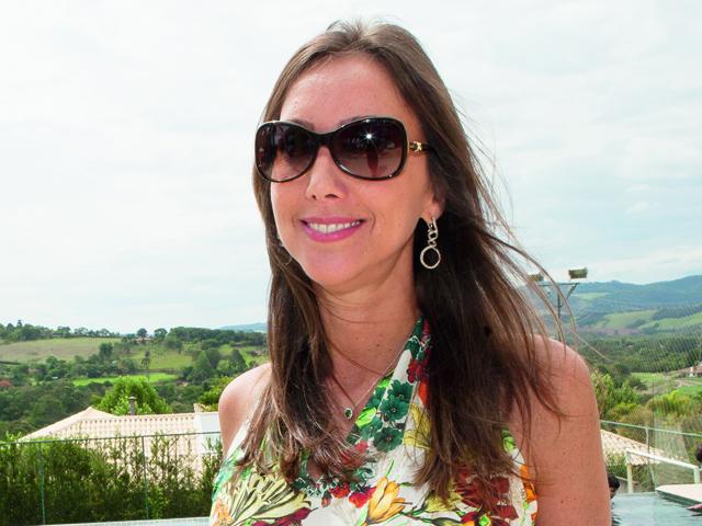 29/11/2014 - Baroneza Golf Day - Deborah Roig durante clínica de Golf e almoço na casa de Deborah Roig na Quinta da Baroneza em Bragança Paulista, interior de São Paulo. Foto: Eduardo Saraiva