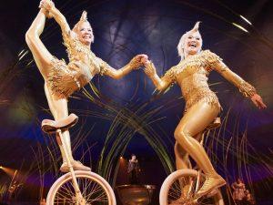 """Bastidores de """"Amaluna"""", do Cirque du Soleil, tem 19 nacionalidades diferentes"""