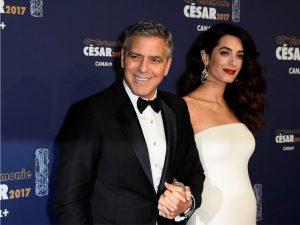 Após parto milionário, nascem Ella e Alexander, os gêmeos de Amal e George Clooney