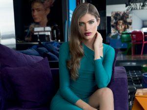 A modelo trans Valentina Sampaio por Fernando Torquatto para a J.P