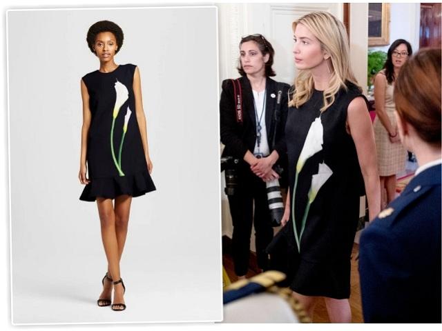 Ivanka Trump e o vestido da Target || Créditos: Getty Images/Reprodução