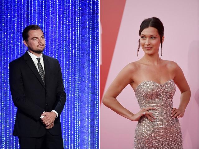 Leonardo DiCaprio e Bella Hadid