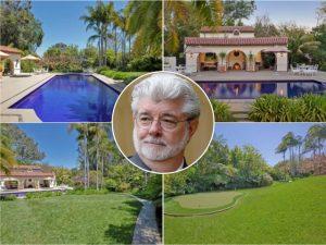 A última compra de George Lucas? Uma mansão de R$ 111,5 mi em Los Angeles!