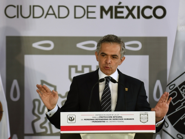 Miguel Angel Mancera || Créditos: Getty Images