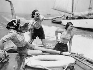 """""""Speedboat Dubrovnik"""" , de Norman Parkinson"""