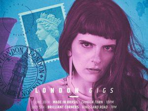 Luísa Viscardi vai comandar dois agitos em Londres
