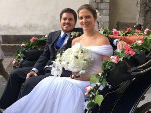 Mood floral no casamento de Juliana Affonso Ferreira, da Isolda, em Portugal