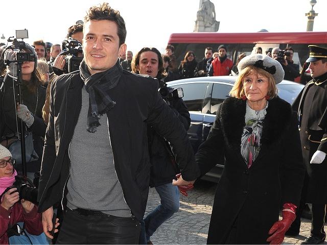 Orlando Bloom com a mãe, Sonia Bloom