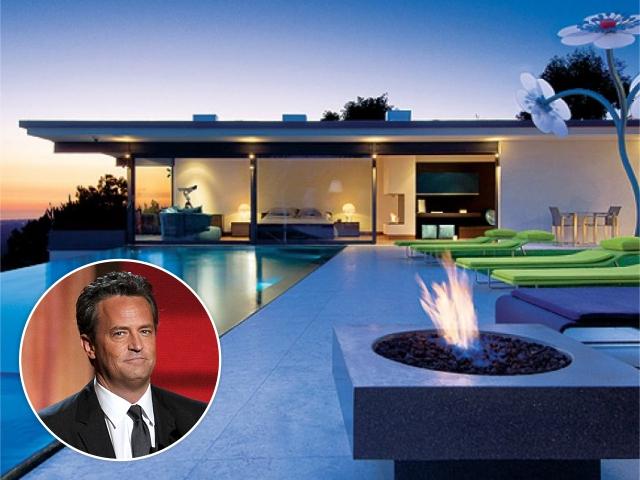 Matthew Perry e sua mansão em LA
