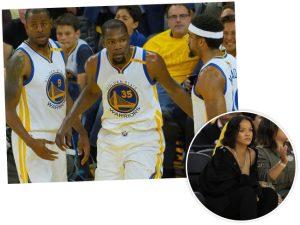 Rihanna tenta atrapalhar jogo de astro da NBA e se dá mal