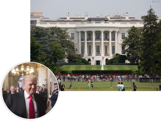 Donald Trump e a Casa Branca