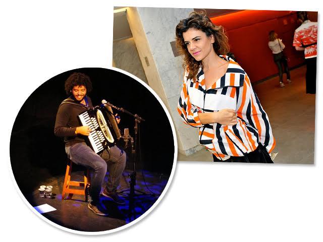 Mestrinho e Mariana Aydar: juntos na programação musical de dia dos namorados do Baretto || Créditos: Reprodução Instagram / Bruna Guerra