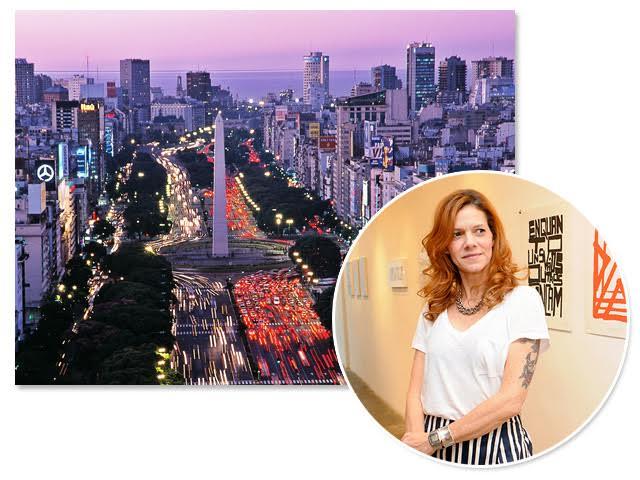 Buenos Aires será palco do aniversário de Marcia Lagos ao lado das melhores amigas!    Créditos: Bruna Guerra / Divulgação