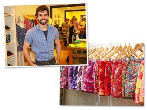 Bruno Lima, da Néctar Mailing, na inauguração da nova flagship Shorts Co