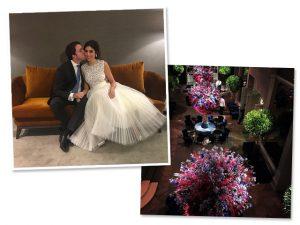 Kathleen Guerekmezian e Thiago Mesquita ficam noivos no Tangará