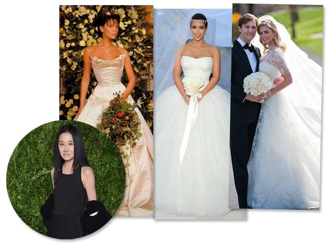 b27370910 Vera Wang e algumas de suas noivas estreladas  Victoria Beckham